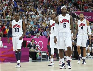 Lebron James, Kobe Bryant, Kevin Durant, Tyson Chandler