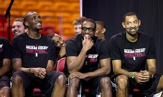 Juwan Howard, Dwyane Wade, Jarvis Varnado