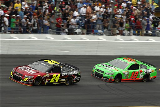 Danica Patrick, Jeff Gordon