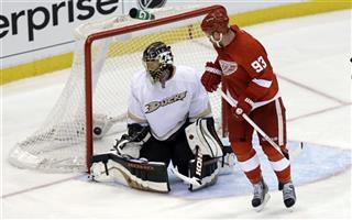 Ducks Red Wings Hockey