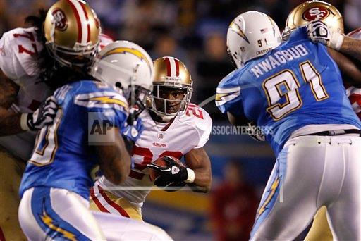 NFL AP S FBN California United States BLCA01 49ers Chargers Football