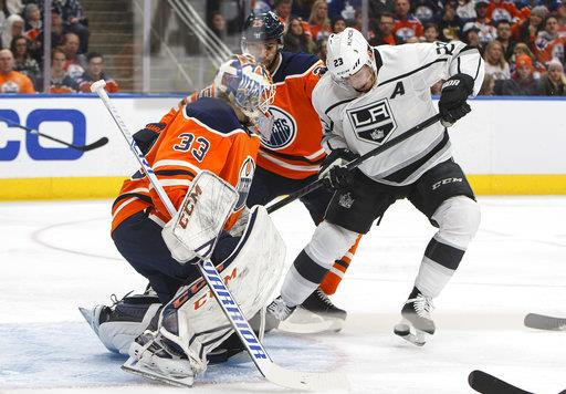 Kings Oilers Hockey