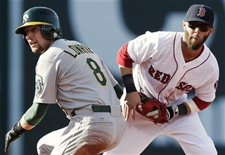 Dustin Pedroia, Jed Lowrie
