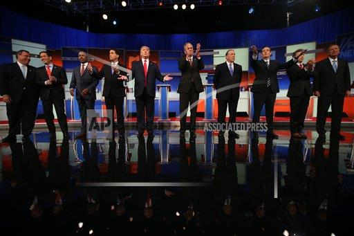 APTOPIX GOP 2016 Debate