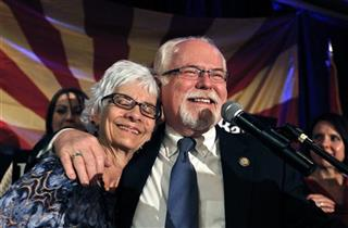Ron Barber, Nancy Barber