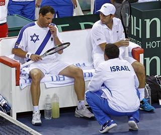 France Israel Davis Cup