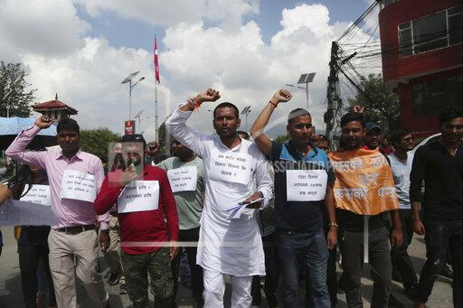 Nepal Airport Protest