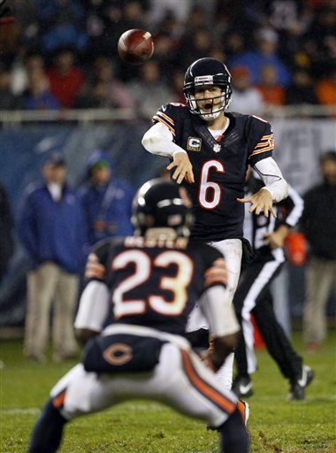 Jay Cutler, Devin Hester