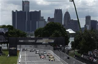 IndyCar Detroit Auto Racing