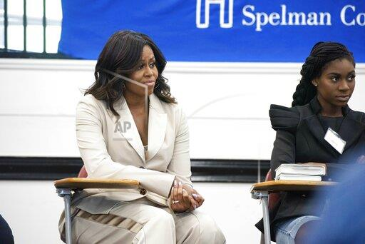 Michelle Obama Visits Students in Atlanta
