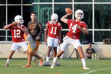 University Of Tennessee Football Practice