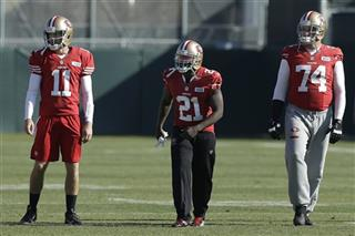 Alex Smith, Frank Gore, Joe Staley