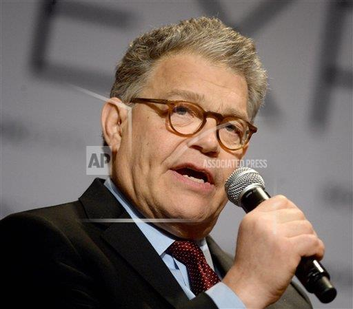 STRMX Star Max/IPx A ENT New York USA IPX Al Franken announces resignation from the U.S. Senate