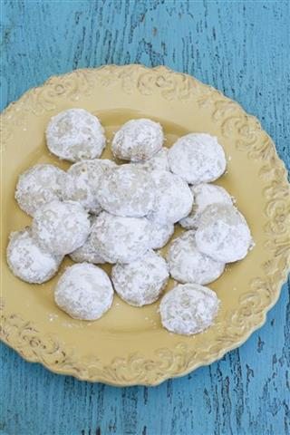 Food-American Table-Lemon Cookies