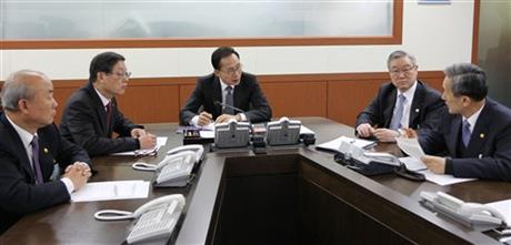 Lee Myung-bak, Kim Kwan-jin