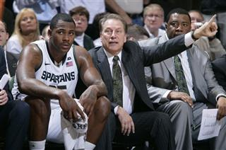 Tom Izzo, Derrick Nix, Dwayne Stephens