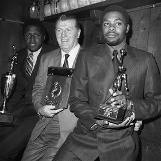Willis Reed, Frank McGuire, Jim McMillian