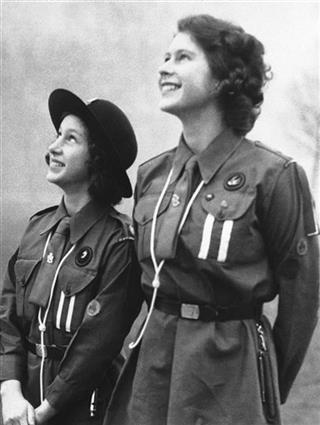 Britain Girl Guides