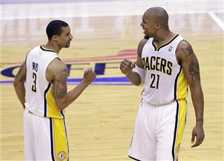 George Hill, David West