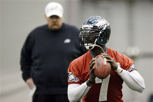 Michael Vick, Andy Reid