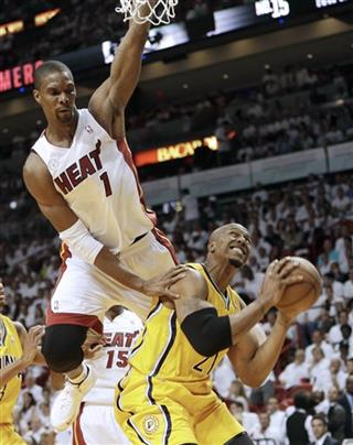 Chris Bosh, David West