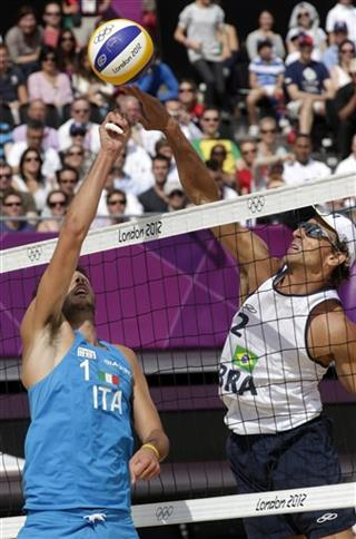 London Olympics Beach Volleyball Men