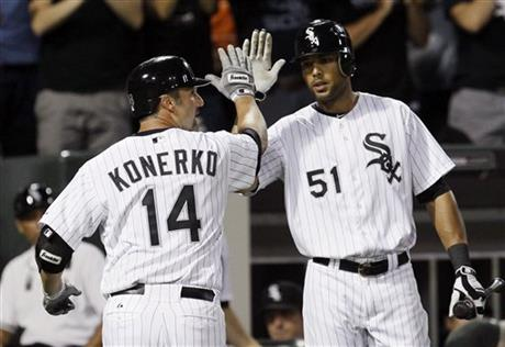 Paul Konerko, Alex Rios