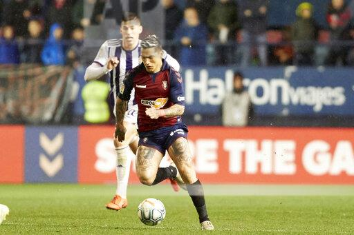 Ca Osasuna Vs Real Valladolid In Pamplona Spain 18 Jan 2020 Buy Photos Ap Images Detailview