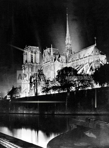 Associated Press International News France PARIS CATHEDRAL NOTRE DAME
