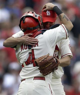 Adam Wainwright, Yadier Molina
