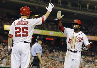 Denard Span, Adam LaRoche