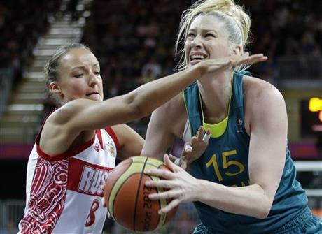 Alena Danilochkina, Lauren Jackson