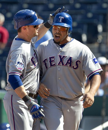 Nelson Cruz, Michael Young
