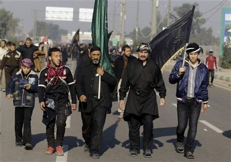 Mideast Iraq Arbaeen