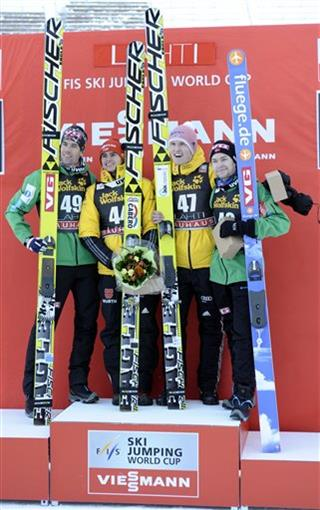 Anders Bardal,Richard Freitag, Severin Freund,Severin Freund