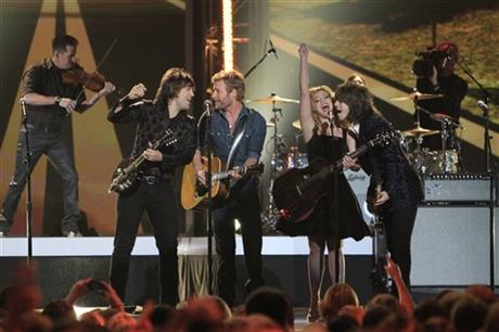 Neil Perry, Dierks Bentley, Kimberly Perry, Reid Perry