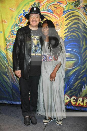 Carlos Santana promotes his upcoming album,, 'Africa Speaks'