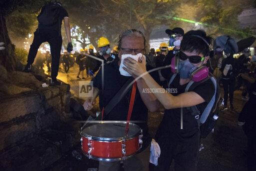 Unrest continues in Hong Kong, China - 11 Aug 2019