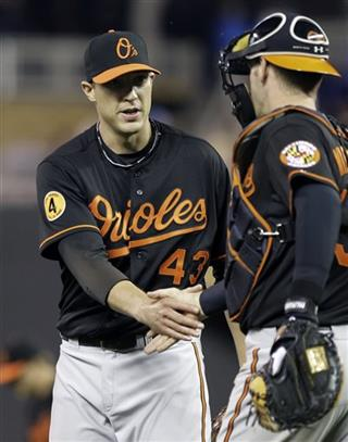 Jim Johnson, Matt Wieters