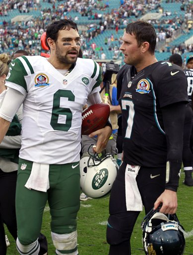 Mark Sanchez, Chad Henne
