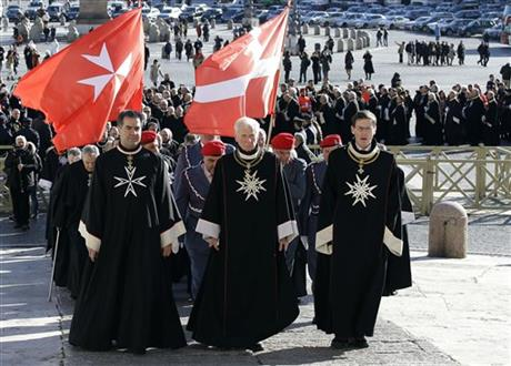 Vatican Pope Knights of Malta