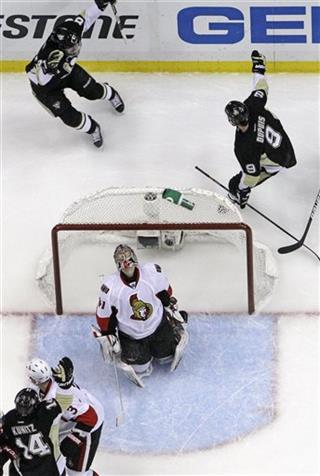 Sidney Crosby, Pascal Dupuis, Craig Anderson