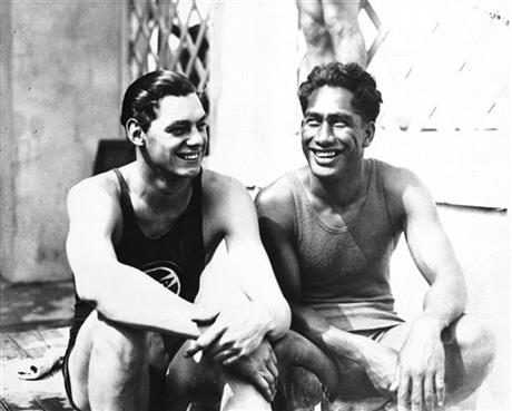 Kahanamoku  Weissmuller