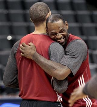 LeBron James, Shane Battier