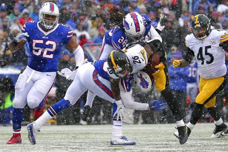 APTOPIX Steelers Bills Football