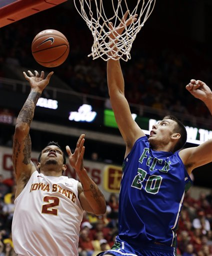 Florida Gulf Coast Iowa St Basketball