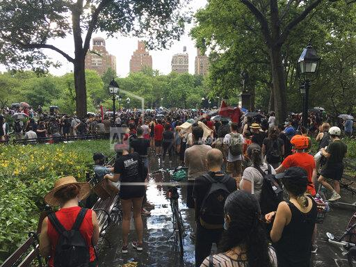 BLM Protest in Washington Square Park in NYC - 6/29/20
