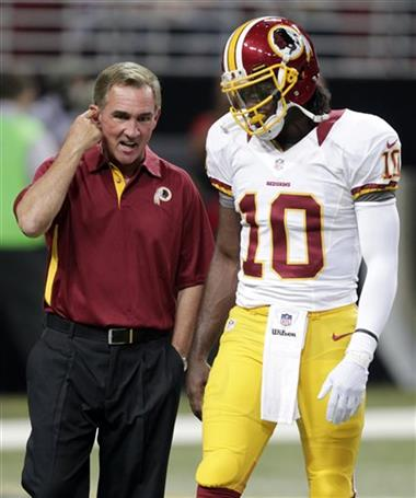 Mike Shanahan,  Robert Griffin III