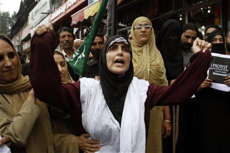Indian Kashmir Prophet Film Protest