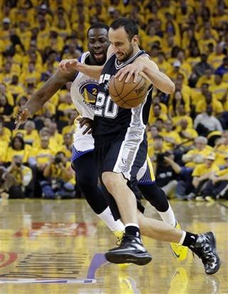 Spurs Warriors Basketball